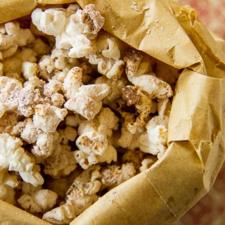 Cinnamon Popcorn + A Weekend Of Solo Parenting