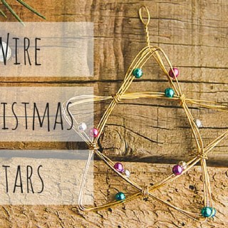 Wire Christmas Stars