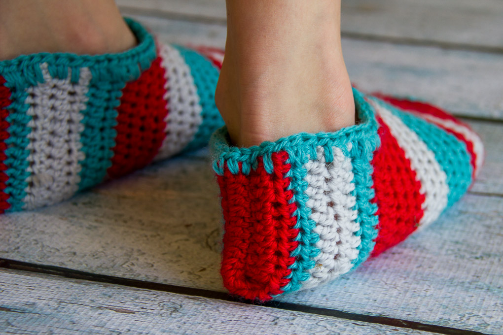 Crochet Slippers-3