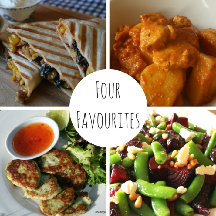 Four Favourites - Spring dinners