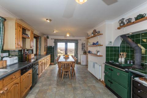 Maria Cottages - Elgol - Isola di Skye - Strutt e Parker - cucina