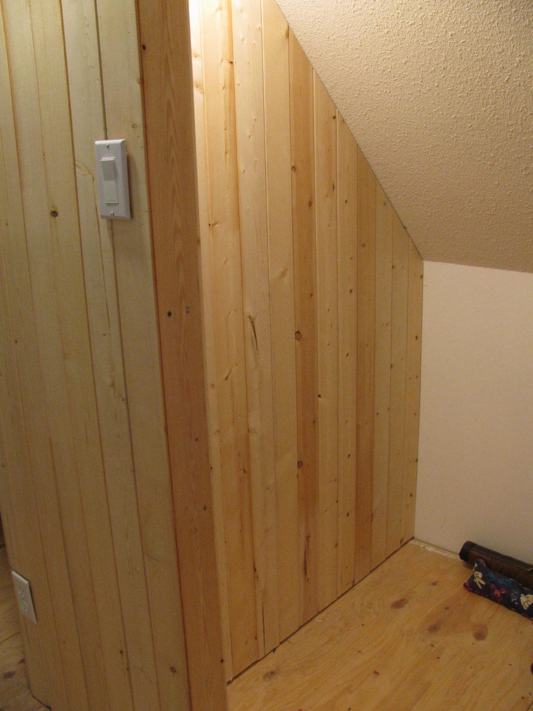 building a closet in an upstairs loft