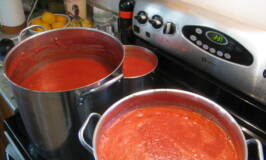 how to make tomato sauce, can tomatoes
