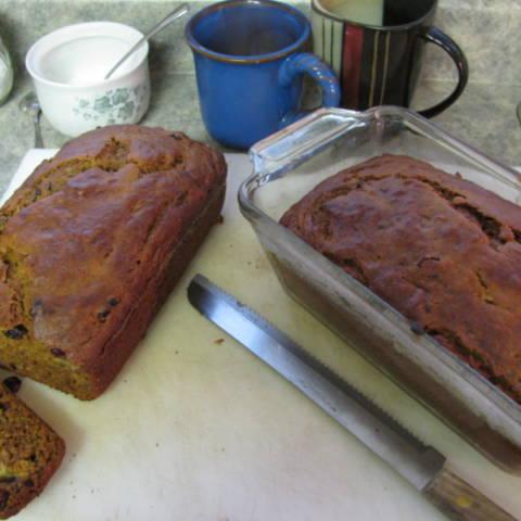 Pumpkin Cranberry Banana Bread Recipe