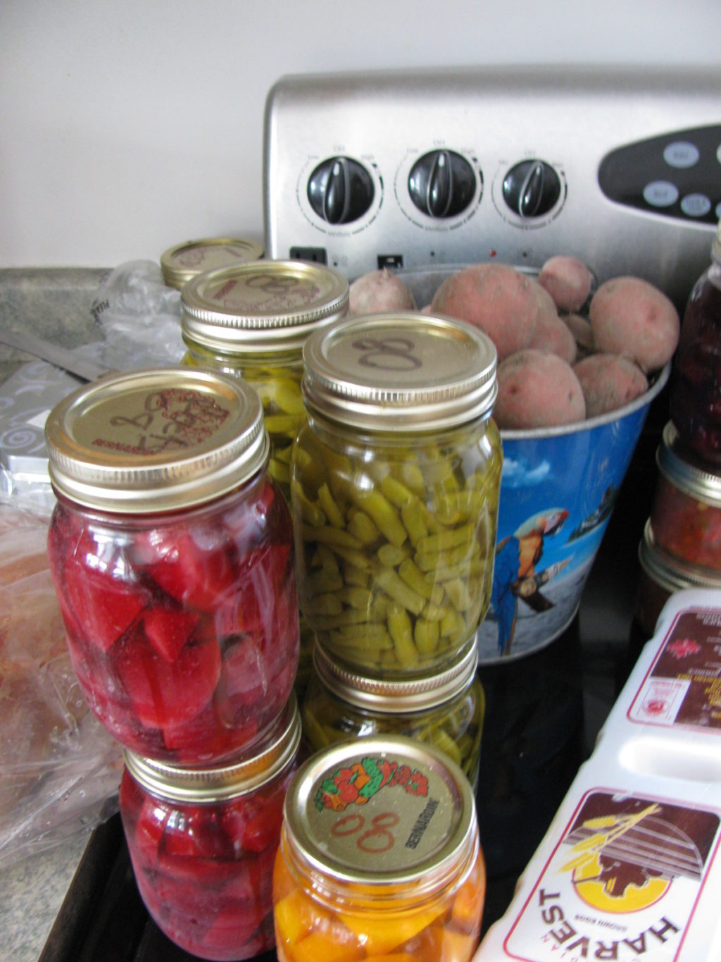 Shop from your pantry all winter long. #canning #food #garden