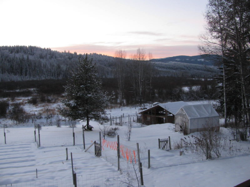Cariboo BC sunsets