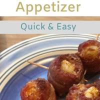 Bacon Wrapped Garlic Bites