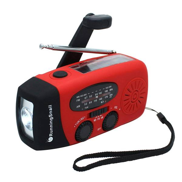 a hand cranked radio makes a great gift for preppers