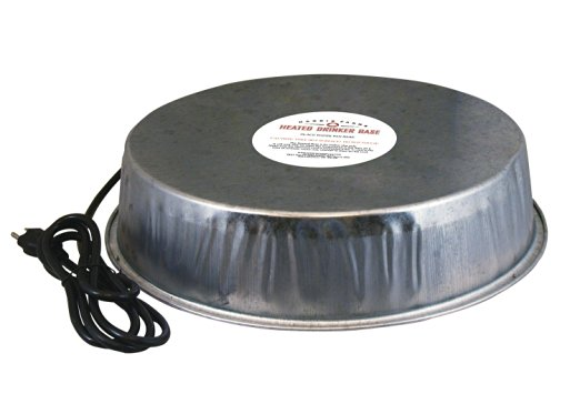 Heated Poultry Waterer Base makes a good gift for a chicken lover