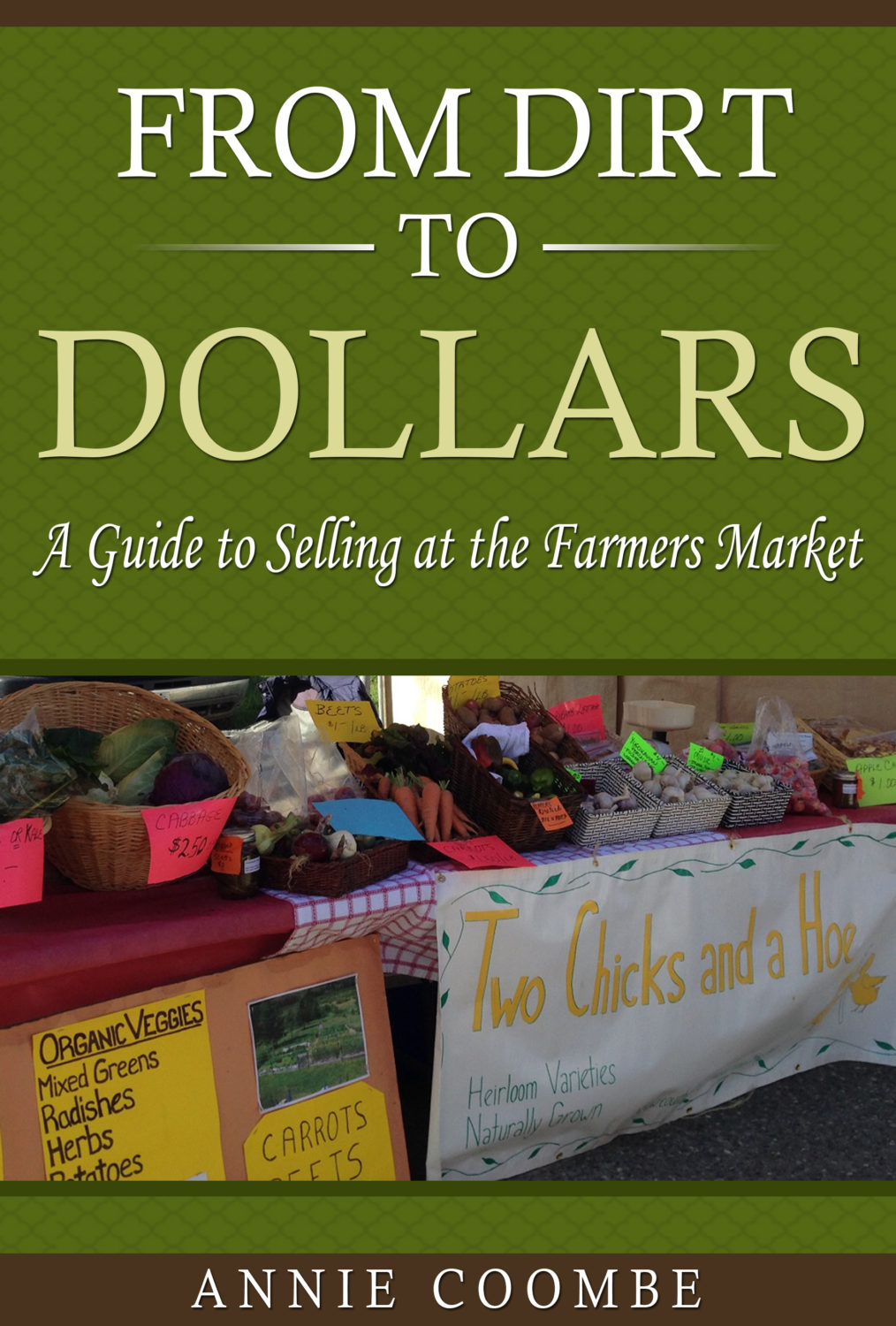 how to sell your produce at the farmers markets