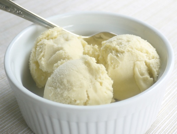 rhubarb recipes, rhubarb ice cream
