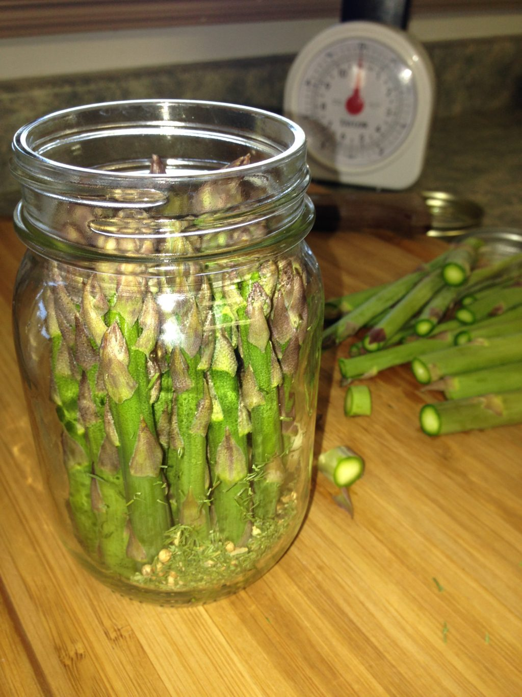 how to pickle asparagus