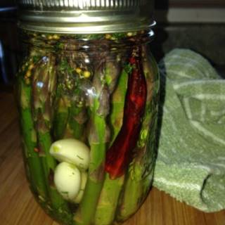 how to pickle asparagus, perennial vegetables, vegetables, food