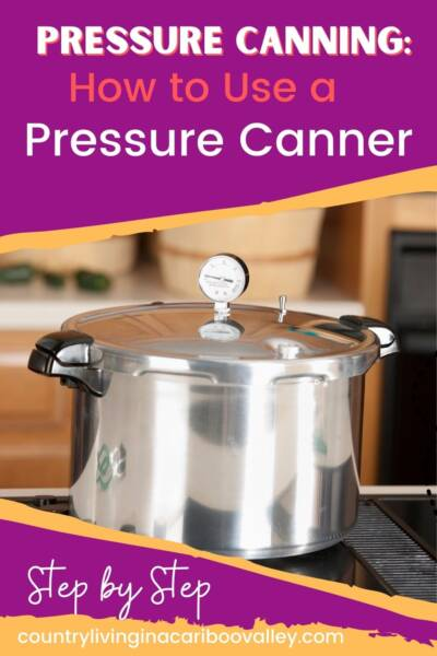 learning how to use a pressure canner