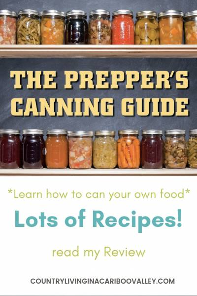 Read my review of this canning and preserving book. Lots of recipes and full canning instructions. #canning #preserving #food #selfsufficiency