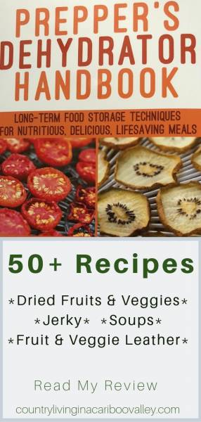 A copy of the Preppers Dehydrating Guide