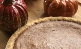 Fireball Pumpkin Pie recipe for a Fall dessert treat