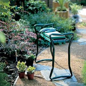 This folding gardening seat is just one great gift ideas for gardeners.
