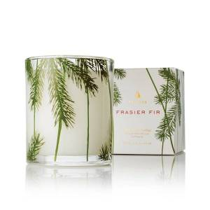 a fir tree scented candle is a lovely gift