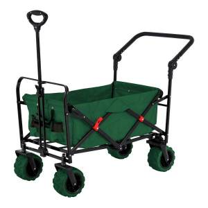 A wheeled folding storage cart is one of several perfect gift ideas for gardeners.