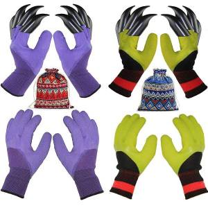These clawed gardening gloves would be a great gift ideas for gardeners.