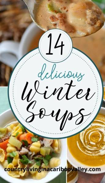a collection of the best winter soup recipes