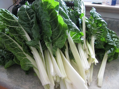 Chard is a fast growing vegetable