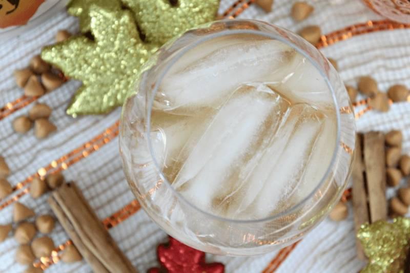 Refreshing Butterscotch Drink