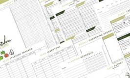 Vegetable Garden Planner Printable