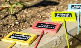 Weatherproof Garden Row Markers