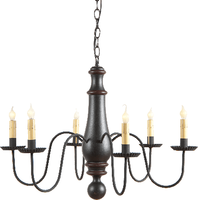 Norfolk Chandelier By Irvin S Tinware