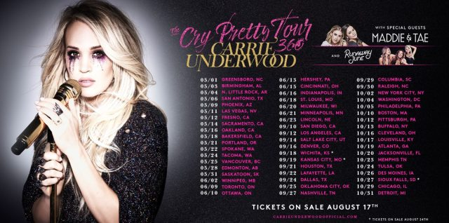 Carrie Underwood Cry Pretty 360