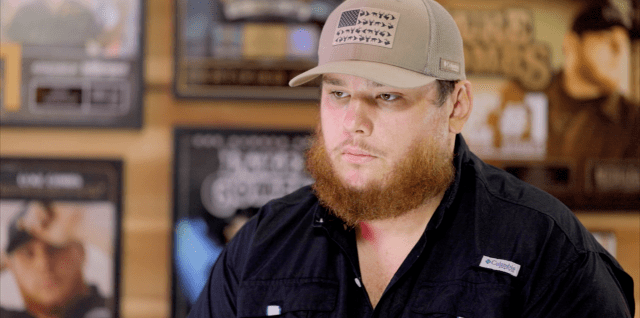 Luke Combs opens up about his anxiety on The Big Interview with Dan Rather