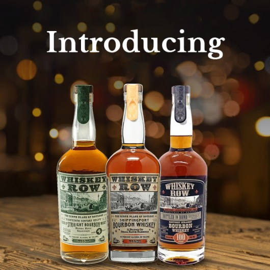 Introducing Whiskey Row Bourbon available at http://www.whiskeychick.rocks/CWSpirits