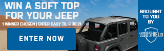 Win a Jeep Soft Top with ExtremeTerrain and CountryMusicNewsBlog!