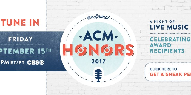 2017 ACM Honors on Country Music News Blog