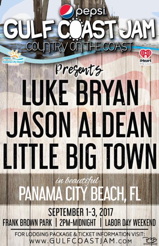2017 Gulf Coast Jam on Country Music On Tour!