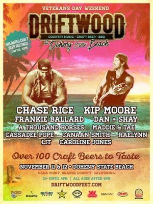 Driftwood Music Festival on Country Music On Tour