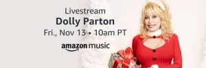 Holly Dolly Parton Christmas Special on Amazon & Twitch