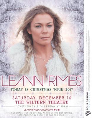 LeAnn Rimes Christmas Concert on Country Music on Tour