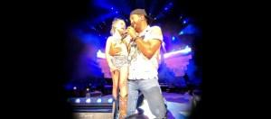 Luke Bryan Sing with Darci Claire