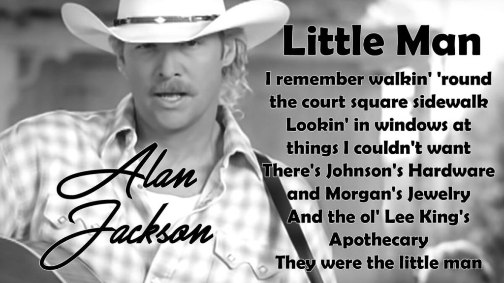 Alan Jackson – Little Man