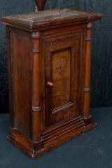Wall Hanging Cupboard, 18th century Side View