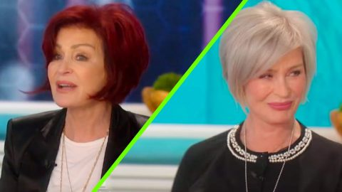 Sharon Osbourne Debuts New Platinum Hair After 18 Years As A Redhead Country Rebel