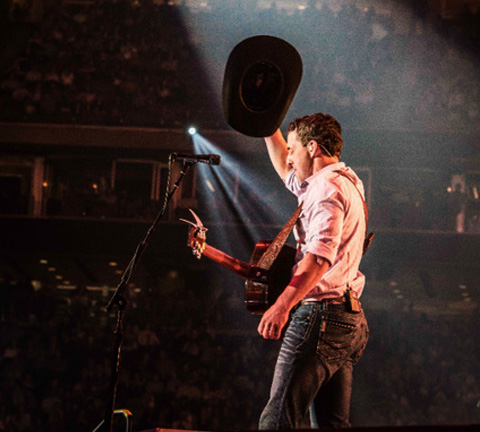 Aaron Watson Performs Live At Rodeo Houston