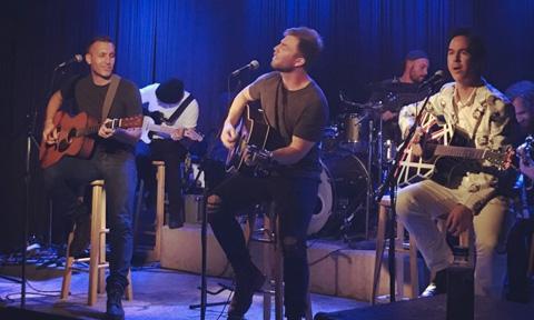 Blake Chaffin, Teddy Robb and JT Harding, Nashville Writers Round at Douglas Corner Cafe