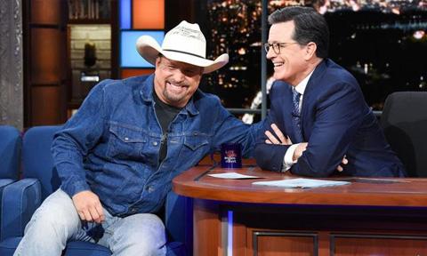 Garth Brooks on Late Night with Stephen Colbert