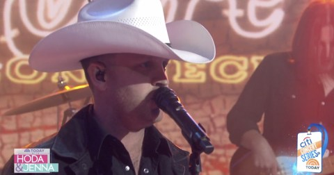 Justin Moore Today Show