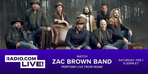 Zac Brown Band Live Stream
