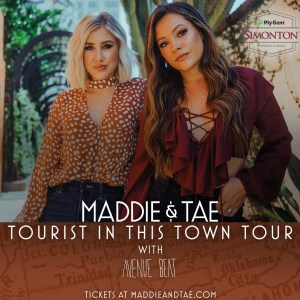 Maddie & Tae Tourist In This Town Tour